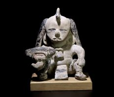 A Beautiful Ancient Mayan Veracruz Warrior - 12.7 cm.