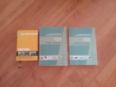 Accessories – Catalogue Belgium OBP 2016 volumes 1 + 2 and Michel Germany 2015/2016