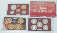 United States – United States Mint Silver Proof Set 2010