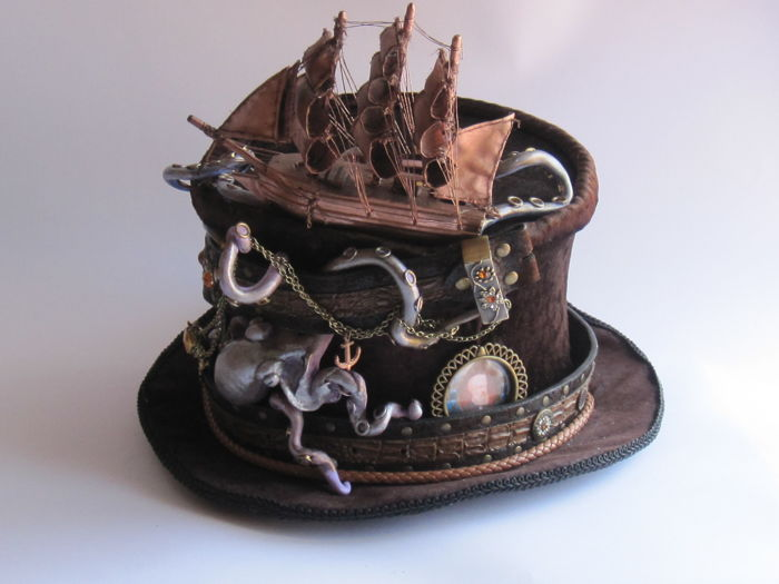 Steampunk hat - twenty thousand leagues under the sea