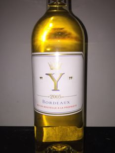 2005  Y d'Yquem- Bordeaux dry white wine x 1 bottle