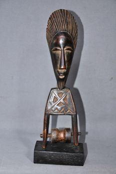Larger weaving pulley with bobbin-BAULE-Ivory Coast