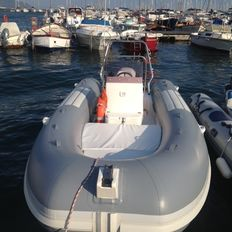 Raimar Rib 560 from 2007 with Evinrude Fitch 115cv injection engine