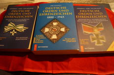 German Orders and Decorations 1800-1945 (OEK) + German Medals and Decorations: German Empire, Weimar Republic, Third Reich, until today paperback + Softcover German orders and decorations