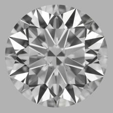 1.21ct  Round Brilliant   E VS2  GIA  EXEXEX   -Original image-serial  #AS16