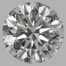 1.03ct Round Brilliant   F VS2  GIA  EXEXEX   -Original image-serial  #AS11