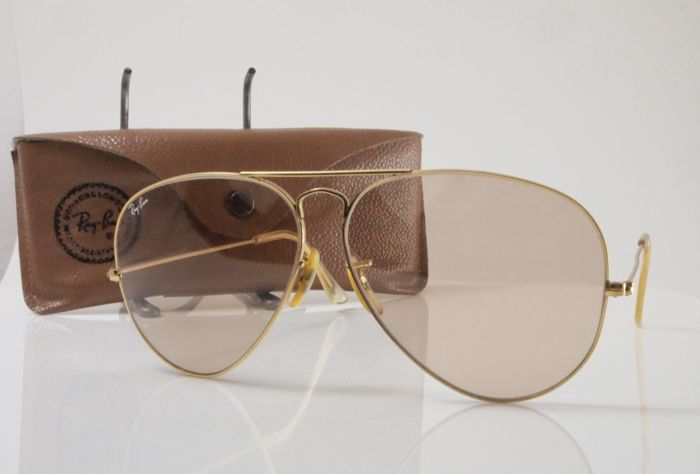 Ray Ban - Bausch & Lomb - Aviator - Sunglasses - unisex