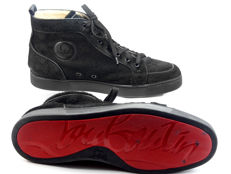 Christian Louboutin - Pony hair high-top Sneakers