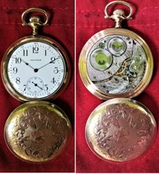Waltham Mass. - Pocket watch - Swiss - ca. 1900