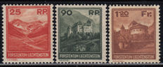 Liechtenstein  1933 Yvert No. 111 / 1113