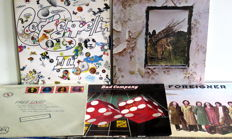 Blues Rock/Classic Rock from the Seventies: Led Zeppelin III en IV – Free Live – Bad Company - Foreigner/6 albums