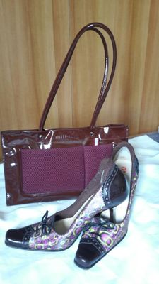 Miu Miu (Prada) shoes and bag, like new.