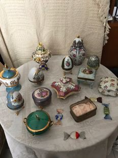 Several porcelain from Limoges