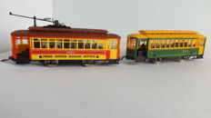 RSO H0 -  Tram Third Avenue Railway System 1651 with trailer