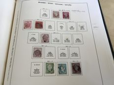 Spain 1852/1939 – Stamp collection in album
