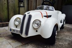 Pedal car - BMW 328 - Plastic with metal frame - 115 x 50 cm