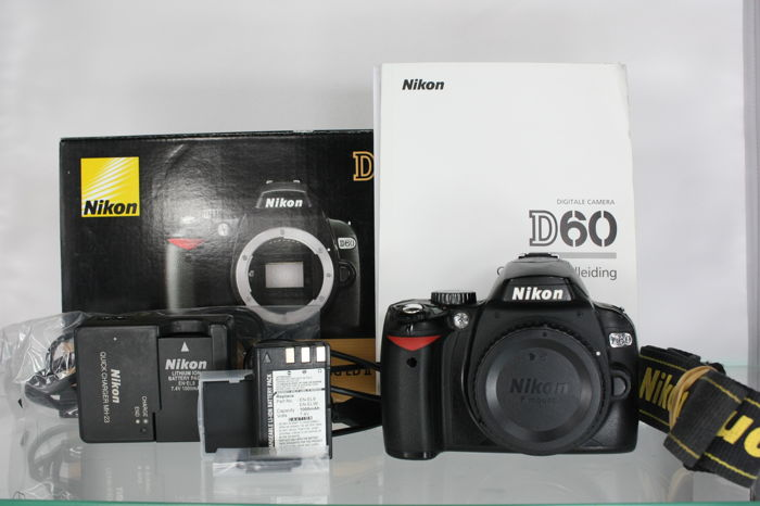 nikon d60 body with its original packaging and manual catawiki rh auction catawiki com nikon d60 user manual nikon d60 user manual english