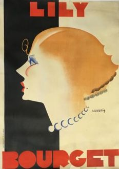 Georges Carrey - Lily Bourget - ca. 1930