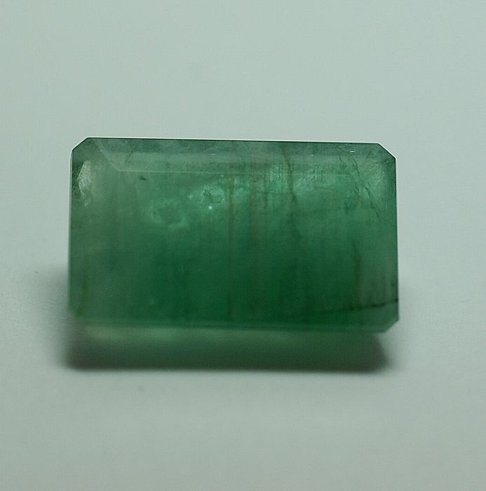 Emerald, green, 20.47ct