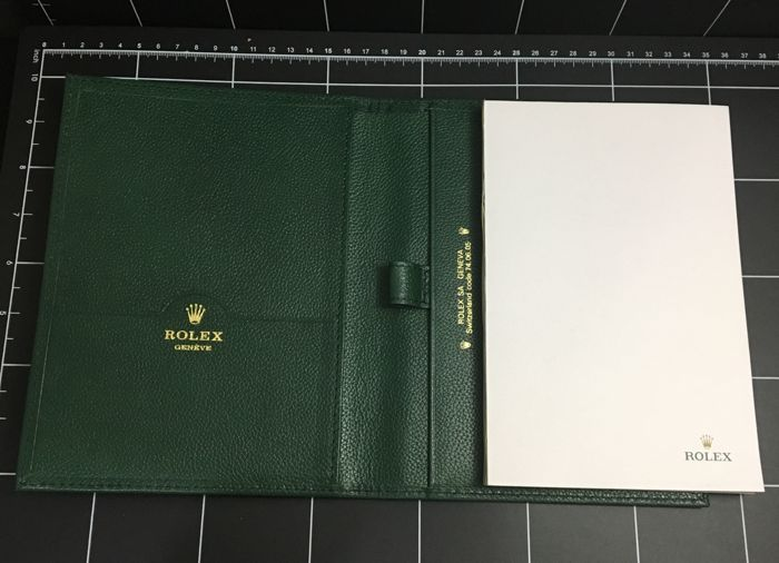 ROLEX  Original Memo book-- No Reserve Price