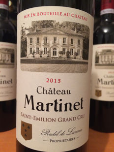 2015 Château Martinet, Saint-Emilion Grand Cru - 12 bottles