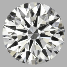 1.01ct Round Brilliant   D VS2  GIA  EXEXEX   -Original image-serial  #AS6