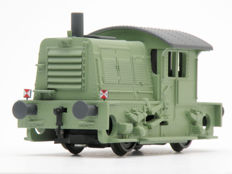 """Roco H0 - 4153 - Diesel locomotive 200/300 """"Sik"""" of the NS in revised form, dummy"""