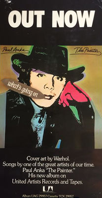 Andy Warhol - Paul Anka, The Painter  - 1976
