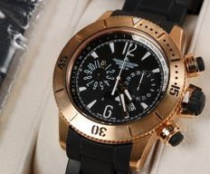 Jaeger-LeCoultre  Master Compressor Diving GMT Chronograph Ref. 160.2.25 – low reservation price