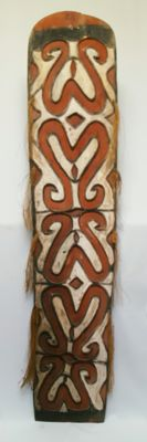 Large shield - Asmat - West Papua