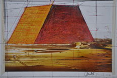 Christo (1935) - The Mastaba, Project for Abu Dhabi
