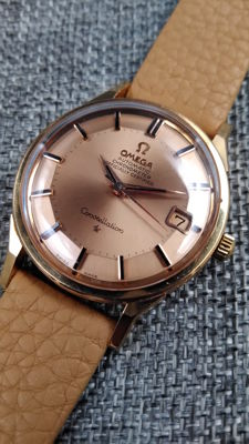 Omega Constelation Pie Pan – Rose Gold