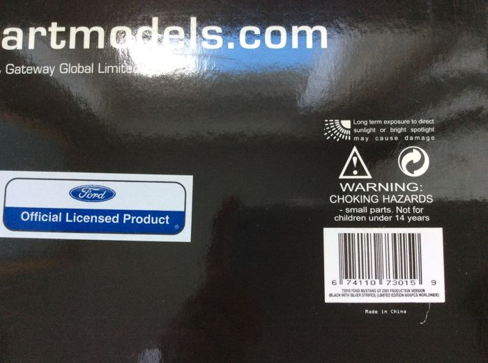 Autoart scale 1 18 ford mustang gt 2005 production for 902 10 23 43