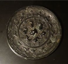A mirror in the tang dynasty of China (665-722) - 130mm