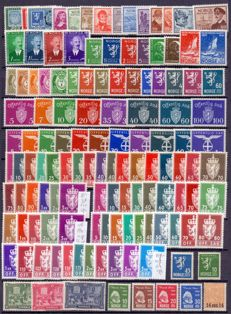 Norway – Various series and official stamps