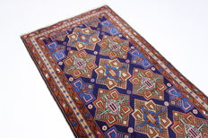Nice genuine Meshkin Persian carpet, 3.24 x 1.10, hand-knotted Oriental carpet, top condition
