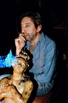 Rénald Destrez (1956-) - Serge Gainsbourg, Paris, 1982