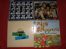 Grand lot of  The Beatles and related : 24 Lp Albums