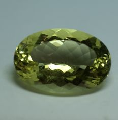 Orthoclase, lemmon yellow, 47.56 ct