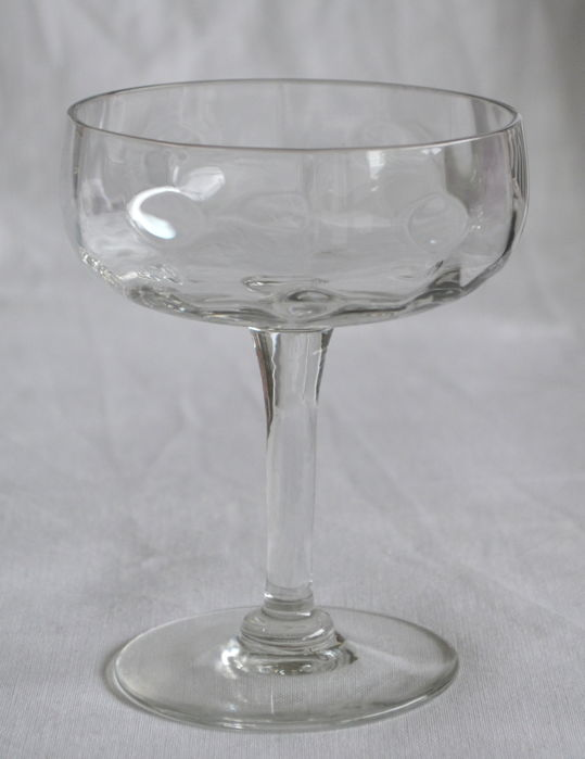 Meyr's Neffe (presumably) - Jugendstil champagne glass