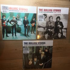 3 Great LP'S of The Rolling Stones || Hand Numbered || Colored Vinyl || Limited Editions || Still in fabric sealing!