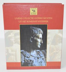 Roman Empire – Unique collection of ancient coins from the Roman Empire, notably Roman AEs (16 coins)