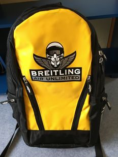Breitling backpack – yellow and black