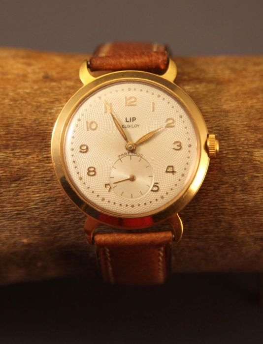Lip Elgiloy almost never worn with original strap