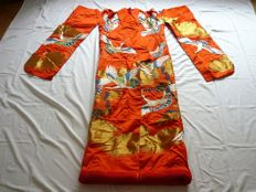 Wonderful wedding Kimono Uchikake - Japan - early 21st century