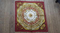 Hermès Paris scarf, 'Astrologie' – designed by Faconnet, in good condition