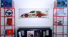 Halmo Collection Porsche 935 Moby Dick Plexiglas Panel