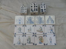 KLM Business Class tiles - KLM houses.
