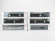 Märklin H0 - 43389 - Set with six carriages of the SBB FFS