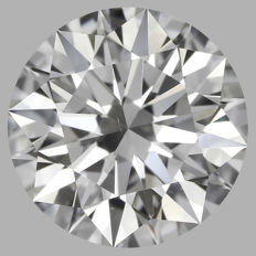 1.02ct Round Brilliant   D VS2  GIA  EXEXEX   -Original image-serial  #AS7
